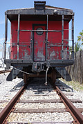 Old Caboose Framed Prints - Caboose of Dreams  Framed Print by By G