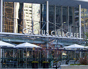 Cafe Terrace Art - Cactus Club Cafe II by Chris Dutton