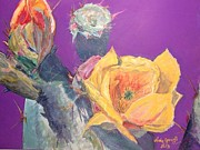 Cactus Splendor Print by Jo Anne Neely Gomez