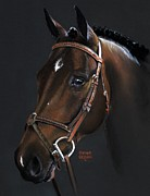 English Bridle Art - Cadence by Heather Gessell