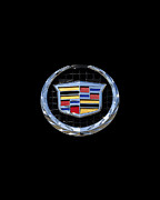 Emblem Digital Art - Cadillac Chrome by Al Powell Photography USA