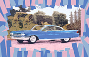 Caddy Digital Art Posters - Cadillac Coupe De Ville Poster by Bruce Stanfield