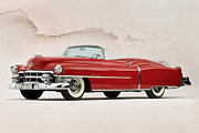 Wire Wheels Posters - Cadillac Eldorado Poster by Peter Chilelli