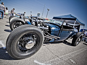 Kustom Prints - Cadillac Powered Rod Print by Merrick Imagery