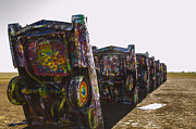 Installation Art Art - Cadillac Ranch 3 Amarillo Texas by Deborah Smolinske