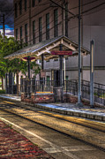 Trolley Photos - Cadrecha Plaza Station by Marvin Spates