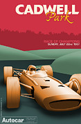 Monaco Art - Cadwell Park 1967 by Nomad Art And  Design