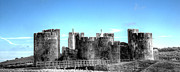 Castle Photos - Caerphilly Castle 10 by Steve Purnell