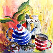 Still Life - Cafe Cult in Villena by Miki De Goodaboom