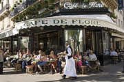 Pres Photos - Cafe de Flore in Paris by Alex Segre