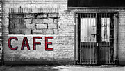 Cafe Photo Prints - Cafe Print by Mark Rogan