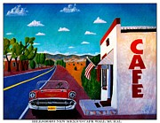 Hillsboro Prints - Cafe Wall Mural Print by Barbara Chichester