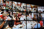 Cafeteria Photo Prints - Cafeteria dining Print by David Bearden