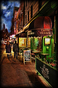 Brew Pub Framed Prints - Caffe Reggio Framed Print by Lee Dos Santos
