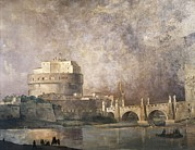 Castle Photos - Caffi, Ippolito 1809-1866. Castel by Everett