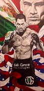 Ufc Paintings - Cain #3 by Jason Turner