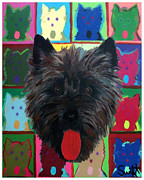 Cairn Terrier Print by Char Swift