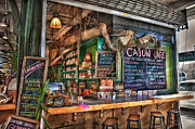 Restaurant Prints - Cajun Cafe Print by Brenda Bryant