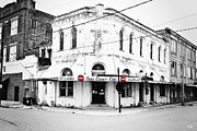 Throw Photo Prints - Cajun Corner Cafe Print by Scott Pellegrin