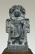 Greek Sculpture Prints - Cakyamouni Buddha Or Buddha Print by Everett