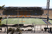 Sports Fields Framed Prints - Cal Bears California Memorial Stadium Berkeley California 5D24654 Framed Print by Wingsdomain Art and Photography