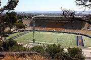 Sports Fields Framed Prints - Cal Bears California Memorial Stadium Berkeley California 5D24659 Framed Print by Wingsdomain Art and Photography