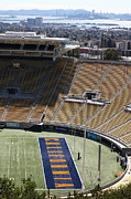 Cal Bear Prints - Cal Golden Bears California Memorial Stadium Berkeley California 5D24666 Print by Wingsdomain Art and Photography