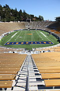 Cal Bear Metal Prints - Cal Golden Bears California Memorial Stadium Berkeley California 5D24683 Metal Print by Wingsdomain Art and Photography