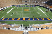 Cal Bear Prints - Cal Golden Bears California Memorial Stadium Berkeley California 5D24684 Print by Wingsdomain Art and Photography
