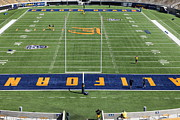 Cal Bear Prints - Cal Golden Bears California Memorial Stadium Berkeley California 5D24687 Print by Wingsdomain Art and Photography