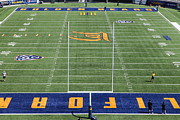 Cal Bear Prints - Cal Golden Bears California Memorial Stadium Berkeley California 5D24691 Print by Wingsdomain Art and Photography
