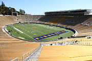 Cal Bear Prints - Cal Golden Bears California Memorial Stadium Berkeley California 5D24693 Print by Wingsdomain Art and Photography