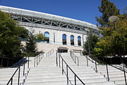 Schools Framed Prints - Cal Golden Bears California Memorial Stadium Berkeley California 5D24742 Framed Print by Wingsdomain Art and Photography
