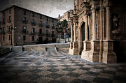 Calahorra Prints - Calahorra Cathedral and Palace Print by RicardMN Photography