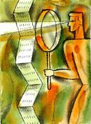 Calculation Print by Leon Zernitsky
