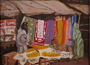 Calcutta Paintings - Calcutta by Rex Maurice Oppenheimer