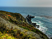 Big Sur Ca Art - California - Big Sur 005 by Lance Vaughn