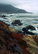 California Prints Prints - California Coast Print by Kathy Yates