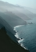 Overcast Art - California coastline by Unknown