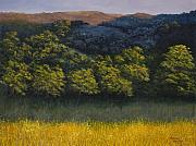 Oak Trees Paintings - California Foothills by Darice Machel McGuire
