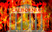 Throne Room Digital Art - California by King David