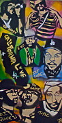 Politics Paintings - California Love by Tony B Conscious