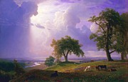 Bierstadt Prints - California Spring Print by Pg Reproductions