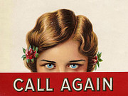 WomenÕs Art - Call Again  1920s Usa Mcitnt Womens by The Advertising Archives