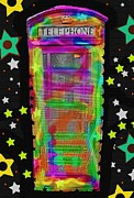 Grafitti Mixed Media - Call Box Pop by David Rogers