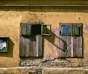 Abandoned Houses Prints - Call M1. Belgrade. Serbia Print by Juan Carlos Ferro Duque