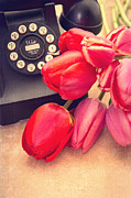 Retro Phone Photos - Call Me My Love by Edward Fielding