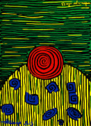 Hundertwasser Painting Originals - Call Of Nature by Sonja Freisinger
