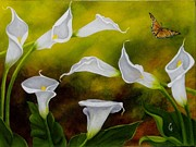 Carol Avants - Calla Lilies and...