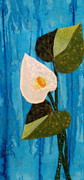 Background Tapestries - Textiles Originals - Calla by Maureen Wartski